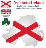 Northern Ireland Flag Royalty Free Stock Image