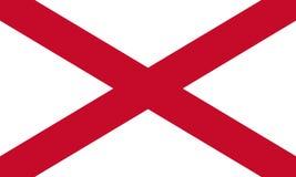 Northern Ireland Flag. Saint Patrick`s Saltire 3D illustration Stock Photography