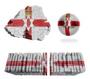 Northern Ireland Symbols Royalty Free Stock Image