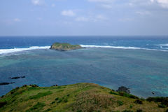 Northern Ishigaki Coastline View. In Japan Stock Photo