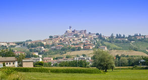 Northern Italy Village. Typical village in Piedmont, Northern Italy Stock Images