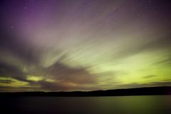 Northern Lake evening Royalty Free Stock Photos