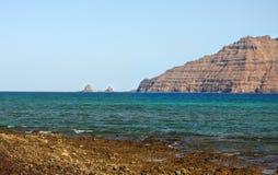 Northern Lanzarote coast Royalty Free Stock Photo