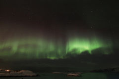 Northern Light Aurora Royalty Free Stock Photography