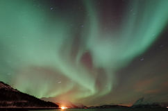 Northern Light Aurora Royalty Free Stock Images