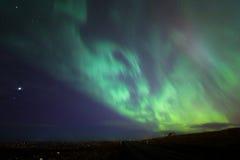 The Northern Light Aurora borealis Iceland Royalty Free Stock Photos