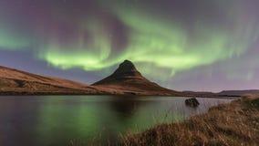 Northern Light Aurora borealis ,Iceland Royalty Free Stock Photography
