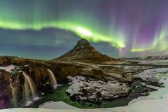Northern Light Aurora borealis Royalty Free Stock Image