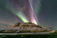 Northern Light Aurora borealis Royalty Free Stock Images