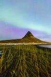 Northern Light Aurora borealis Stock Image