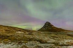 Northern Light Aurora borealis Royalty Free Stock Photo