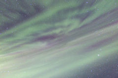 The Northern Light Aurora borealis Royalty Free Stock Photo