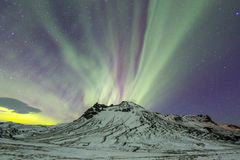 The Northern Light Aurora borealis Stock Photo