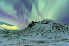 The Northern Light Aurora borealis Royalty Free Stock Photos