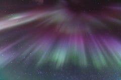 The Northern Light Aurora Iceland Stock Image