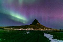 Northern Light Aurora Iceland Royalty Free Stock Photos