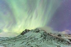 Northern Light Aurora Iceland Stock Photos