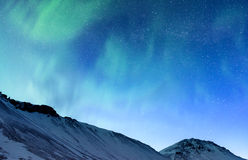 Northern light of Iceland Royalty Free Stock Images