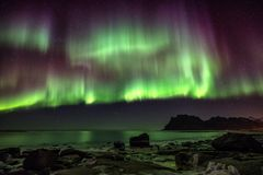 Free Northern Lights Stock Photography - 112985582