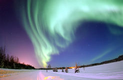 Northern lights Stock Photos