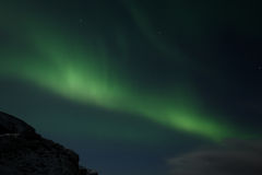 Northern lights. Beautiful lights on the sky Stock Images
