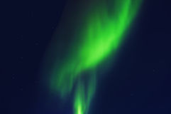 The Northern lights. Norther lights, captured in Iceland Stock Photo
