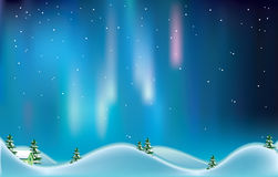 Northern lights. Royalty Free Stock Images