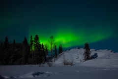 Northern Lights (Aurora borealis) Stock Photos