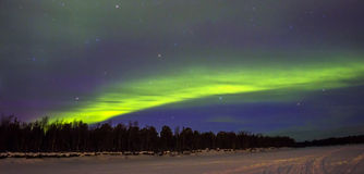 Northern Lights (Aurora borealis) royalty free stock photo