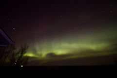 Northern lights. Aurora Borealis on a clear night Royalty Free Stock Photos