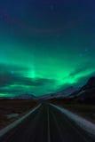 Northern lights (Aurora Borealis) in Iceland Royalty Free Stock Photos