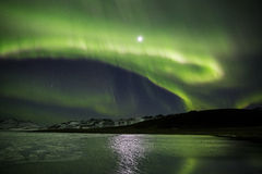 Northern lights Stock Images