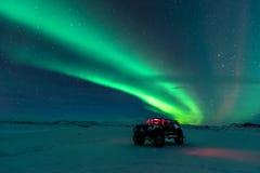 Northern Lights Aurora Borealis Stock Image