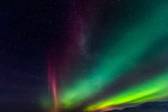 Northern Lights Aurora Borealis Royalty Free Stock Photography