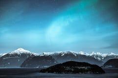 Northern Lights Aurora Borealis Royalty Free Stock Photography