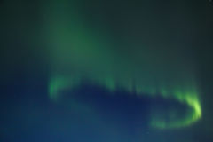 Northern lights (Aurora Borealis) Royalty Free Stock Image