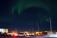 Northern lights (Aurora Borealis) Royalty Free Stock Photography
