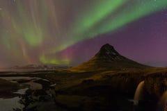 Northern Lights - Aurora borealis Royalty Free Stock Image