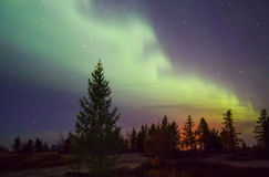 Northern lights (Aurora Borealis) Stock Photo