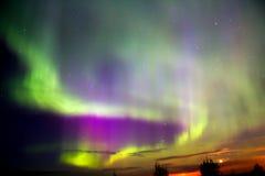 Northern lights (Aurora Borealis) Royalty Free Stock Image