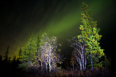 Northern lights (Aurora Borealis) Stock Photo