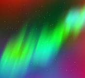 Northern lights background Stock Photos