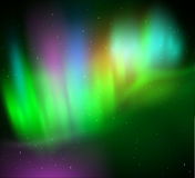 Northern lights background Royalty Free Stock Images