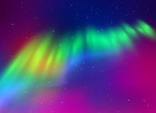 Northern lights background Royalty Free Stock Photos