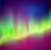 Northern lights background Royalty Free Stock Photography