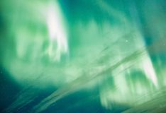 Northern lights background Royalty Free Stock Image