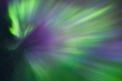 Northern lights Crown (Aurora borealis) in the sky. Colorful Northern lights Crown (Aurora borealis) in the sky royalty free stock images