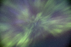 Northern Lights Dance Overhead Royalty Free Stock Photography