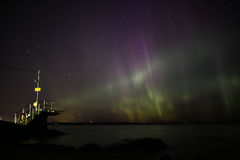 Northern Lights in Finland Royalty Free Stock Images