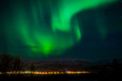 Northern Lights Finnsnes Norway Stock Photos